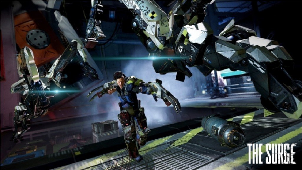 The Surge ps4 pro project scorpio