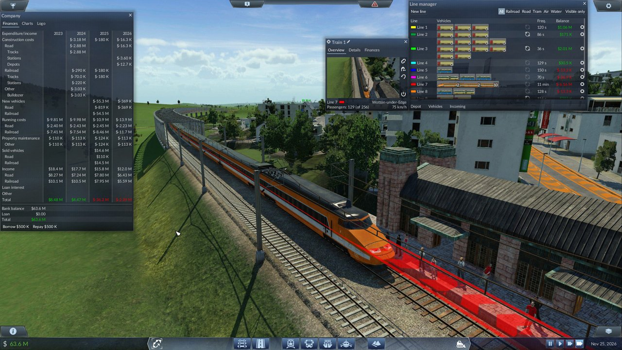 Transport Fever immagine PC 02