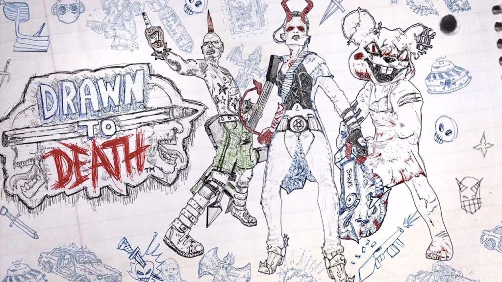 david jaffe Drawn to Death