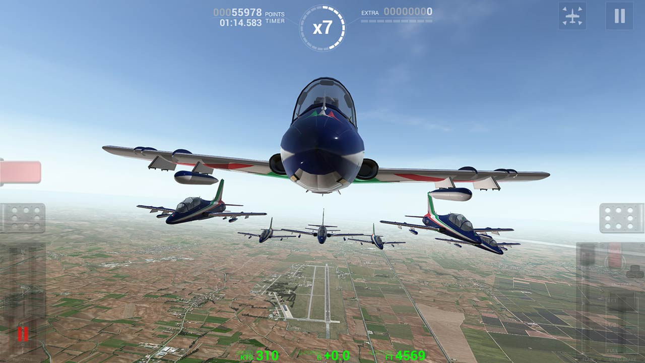 "Disponibile da oggi ""Frecce Tricolori Flight Simulator"""