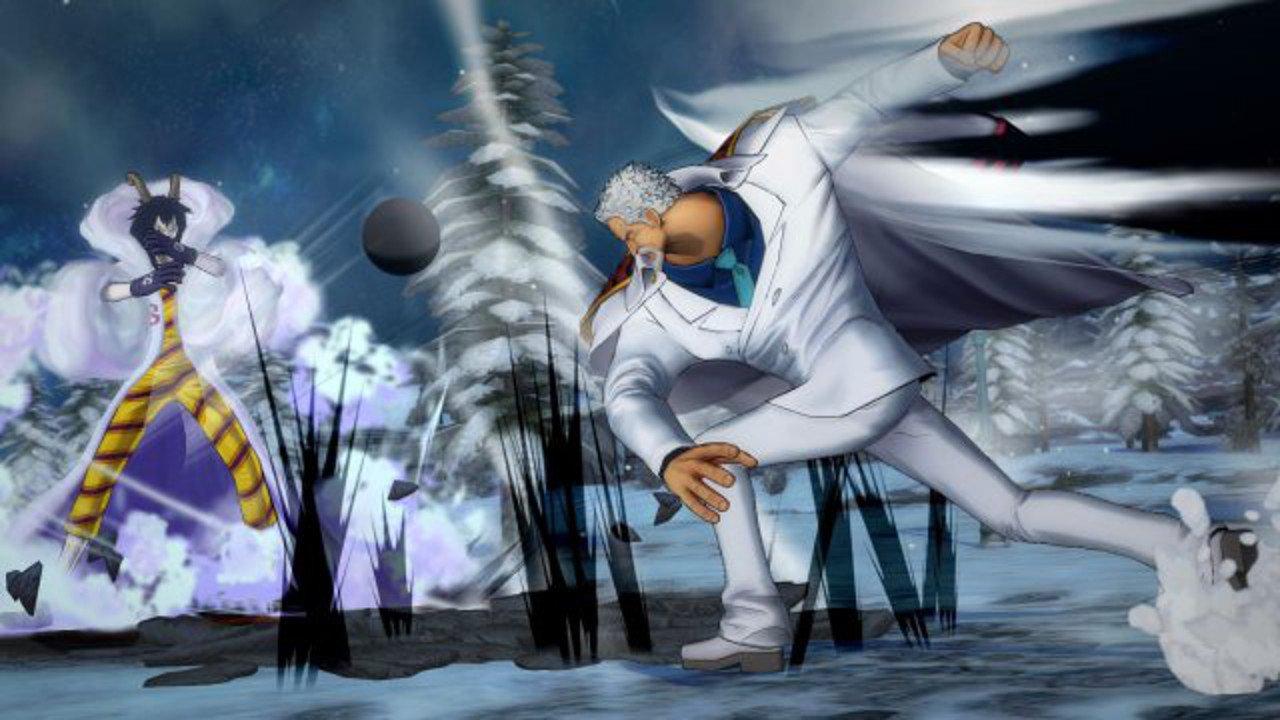 One Piece Burning Blood: annunciati Monkey D. Garp e Caesar Clown