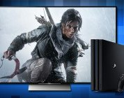 playstation 4 pro rise of the tomb raider