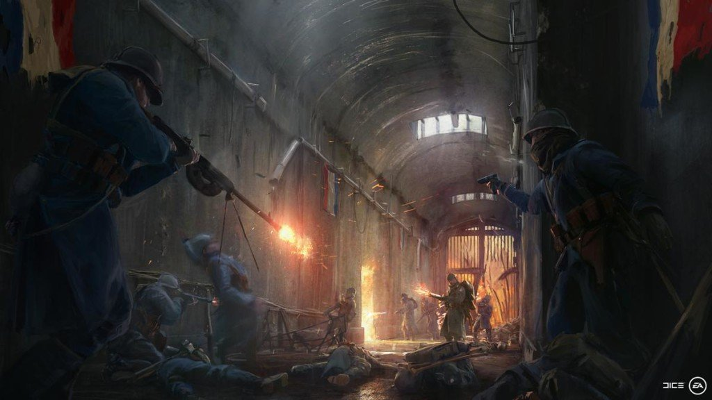 Battlefield 1 esercito francese