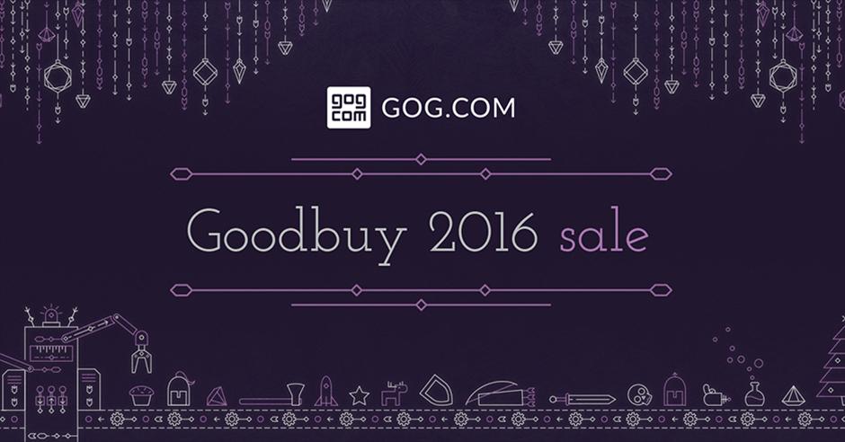GOG saldi natalizi Goodbuy 2016 Sale