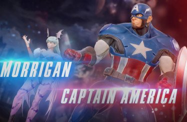Marvel vs Capcom Infinite Morrigan Captain America