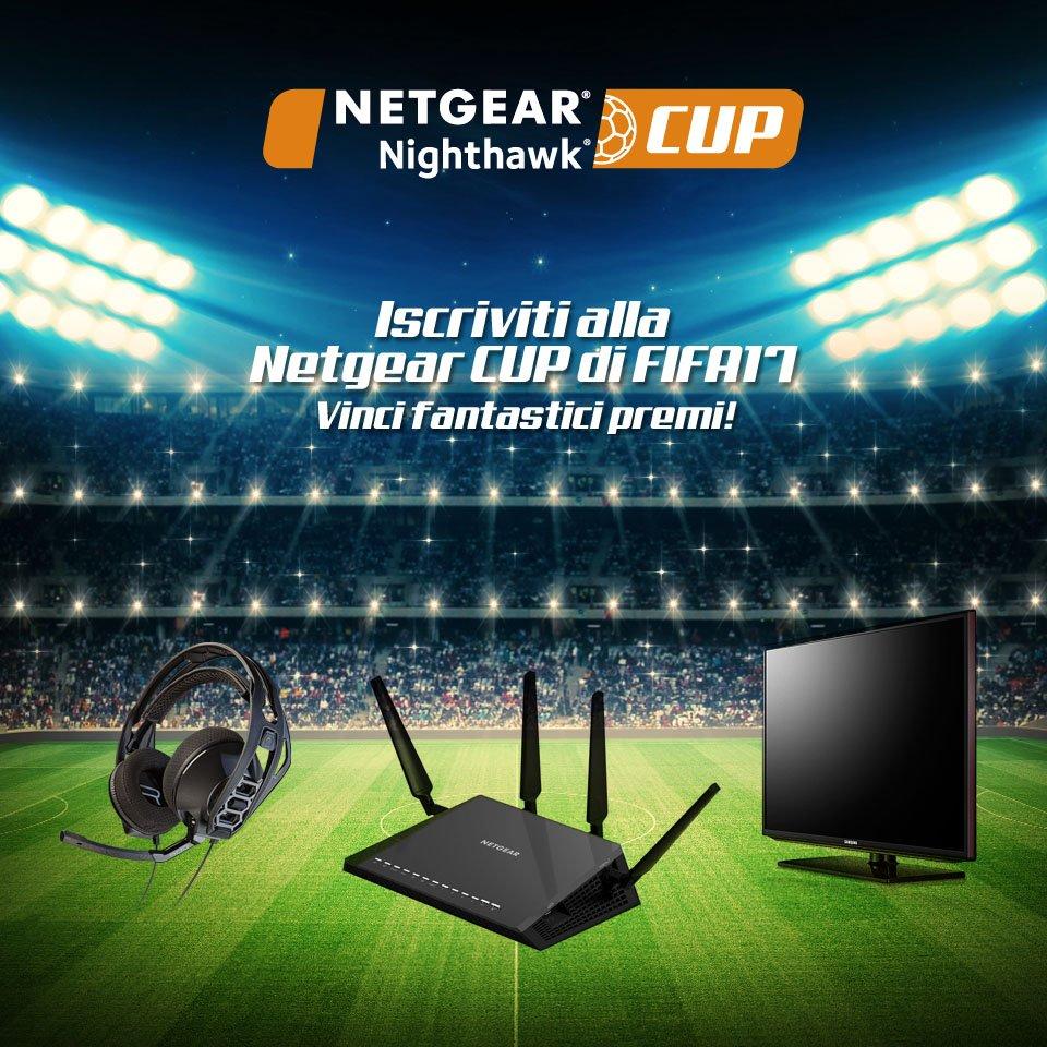 Netgear Cup FIFA 17 PS4