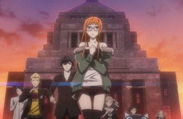 Persona 5 trailer anime