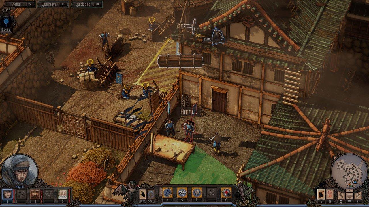 Shadow Tactics Blades of the Shogun recensione PC