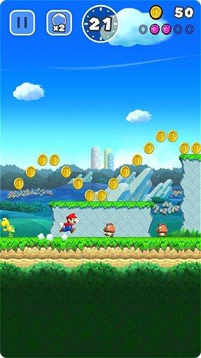 Super Mario Run immagine mobile 03