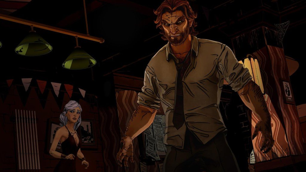 The Wolf Among Us deals with gold