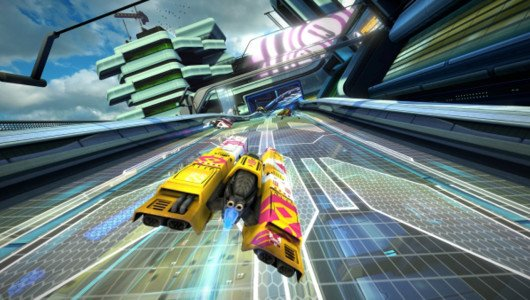 WipEout Omega Collection gold