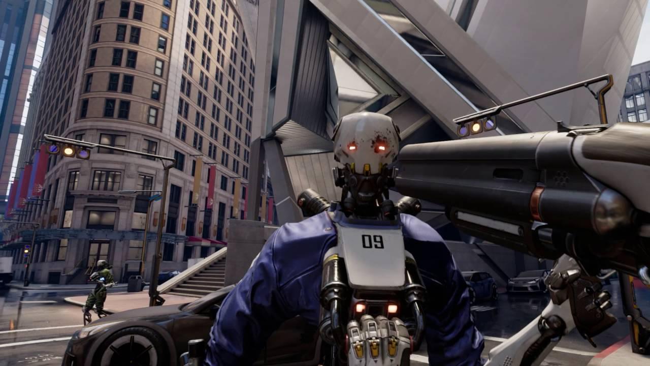 Robo Recall di Epic Games ha un budget pari a quello di Gears of War