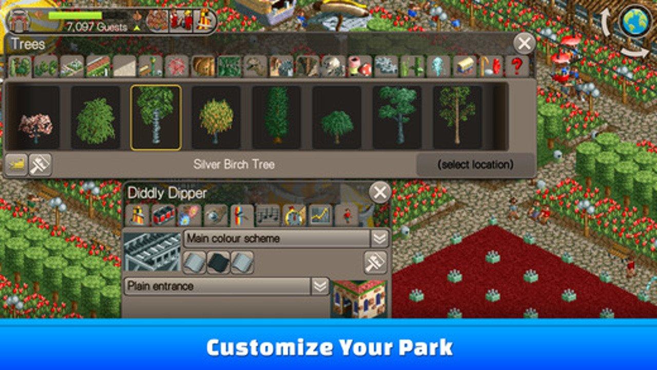 Rollercoaster Tycoon Classic è ora disponibile su iOS e Android