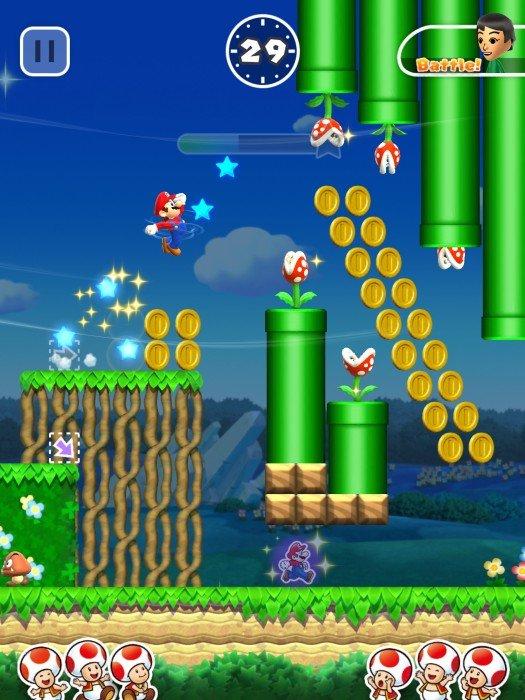 Super Mario Run ha raggiunto i dieci milioni di download al lancio