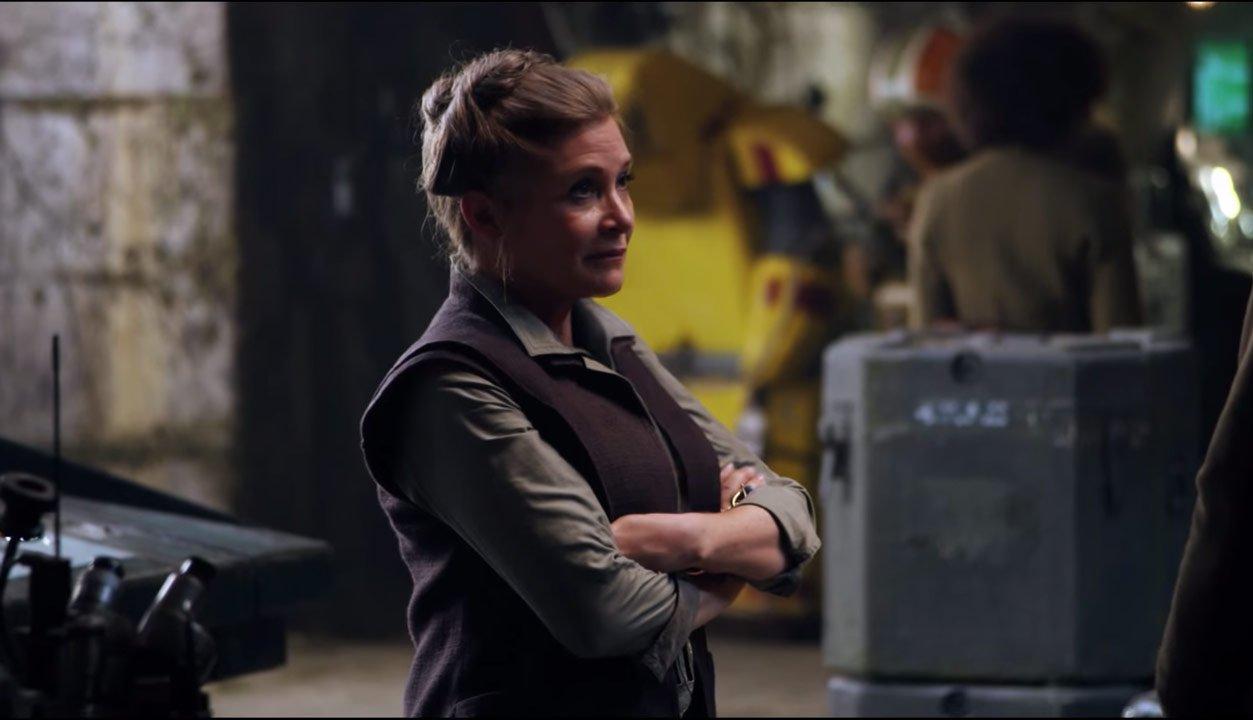 Star Wars Carrie Fisher digitale