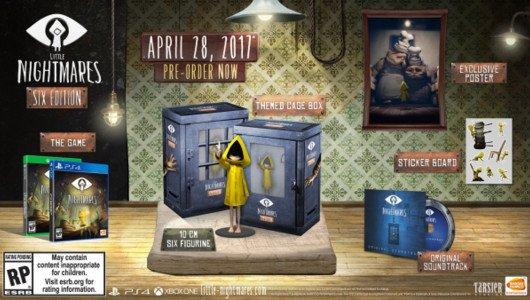 Little Nightmares: svelata la data d'uscita e i bonus di prenotazione, pubblicato un trailer per la Six Edition