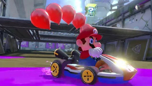 Mario Kart 8 Deluxe trailer feature