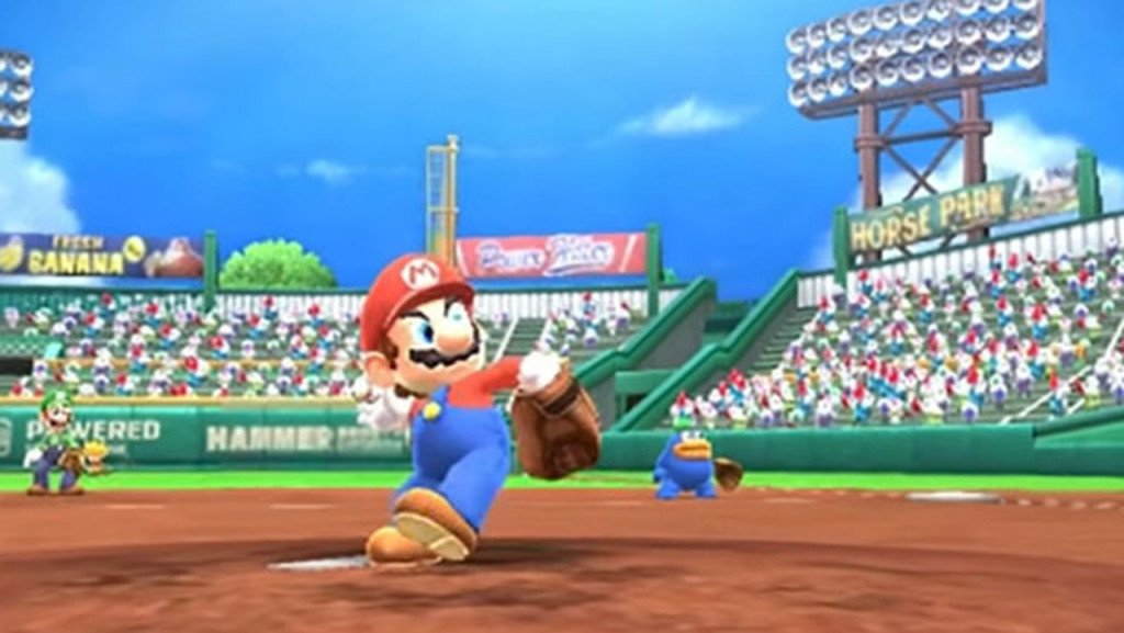Mario Sports Superstars video introduttivo