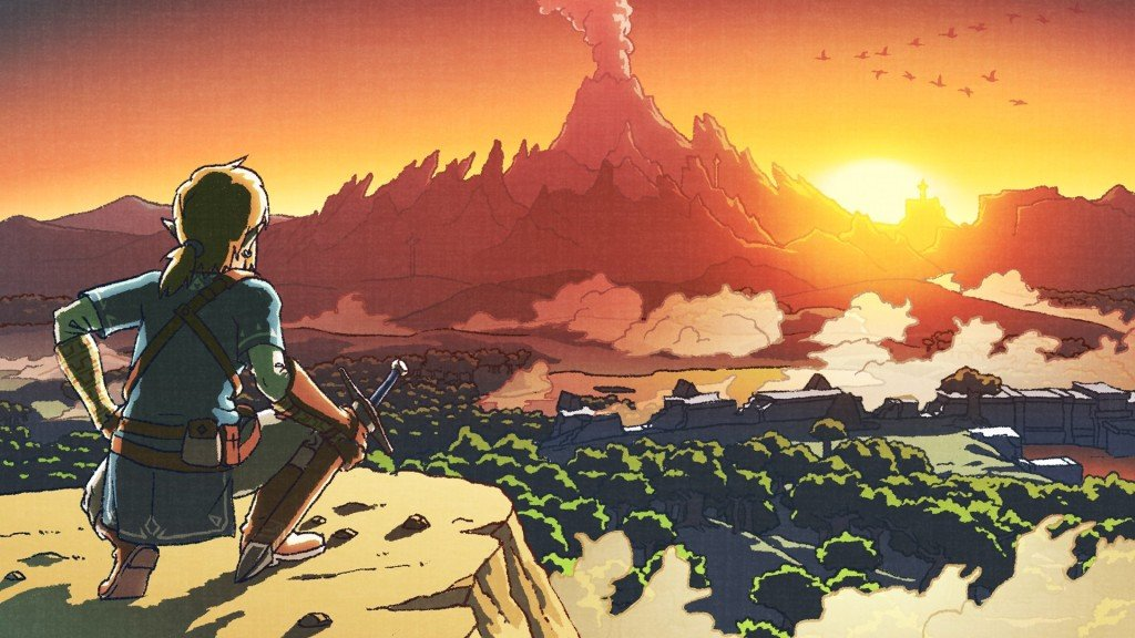 The Legend of Zelda Breath of the Wild artwork