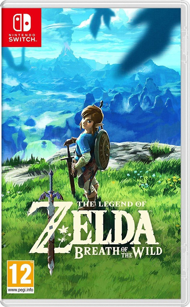 The Legend of Zelda Breath of the Wild cover Nintendo Switch