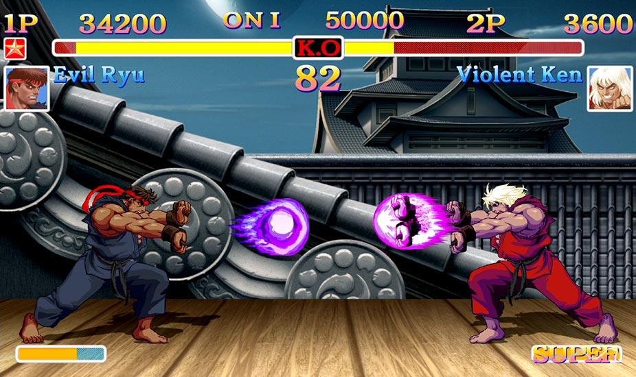 Ultra Street Fighter II modalità prima persona
