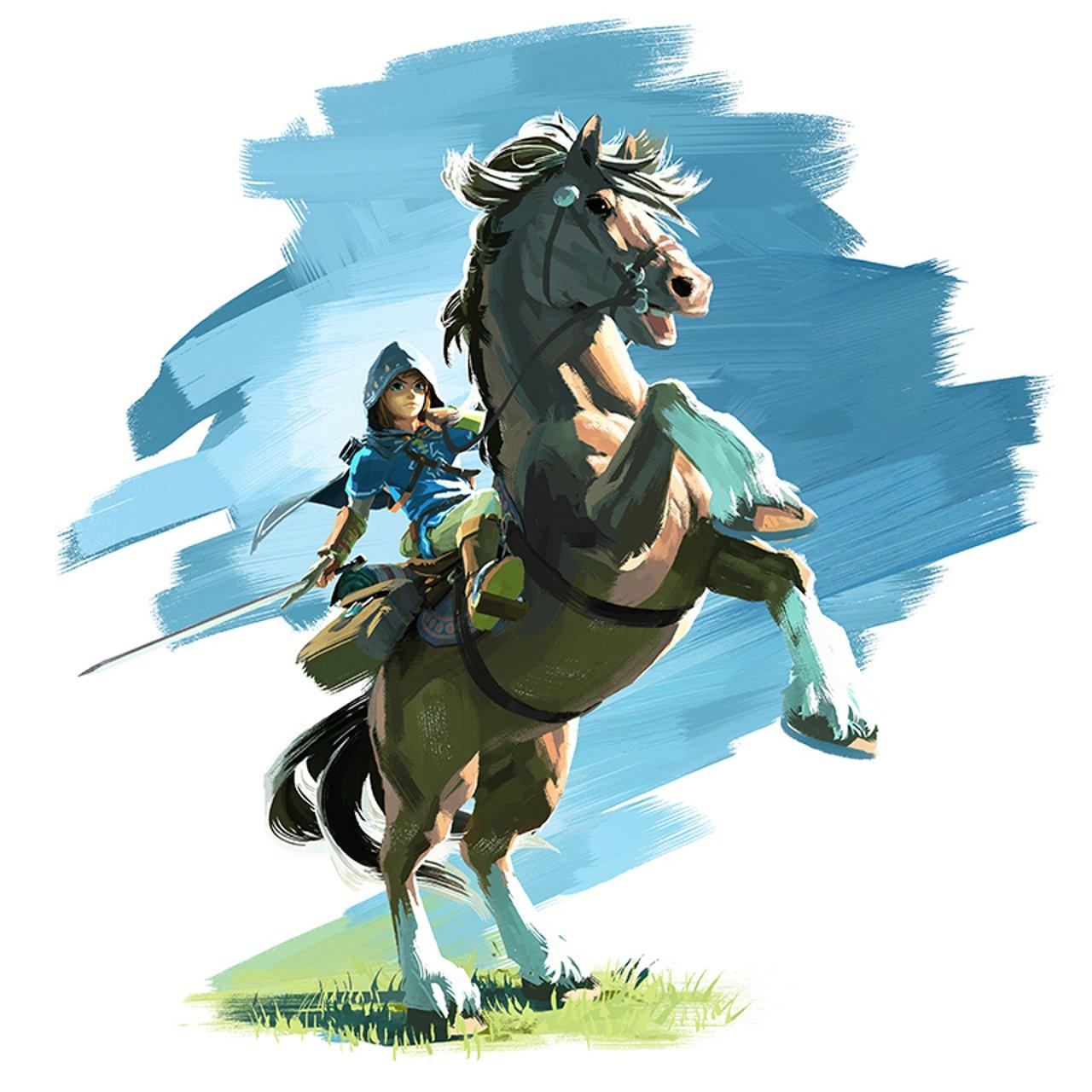 Zelda Breath of the Wild: confermata la presenza di Epona
