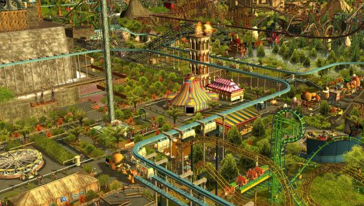 rollercoaster tycoon switch atari