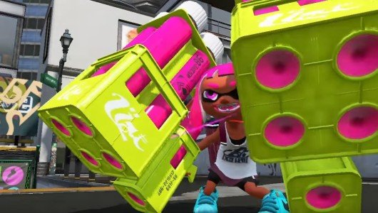 splatoon 2 annunciato nintendo switch