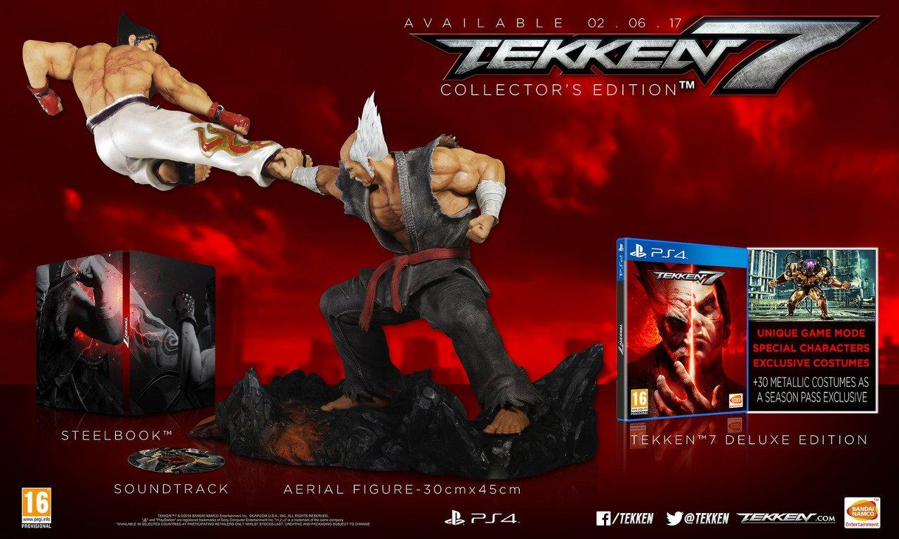 Tekken 7: data d'uscita, edizioni speciali e un nuovo trailer