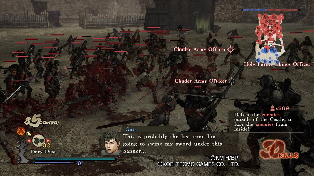 Berserk and the Band of the Hawk immagine PC PS4 PS Vita 26