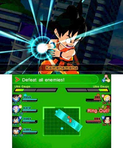 Dragon Ball Fusions immagini 3DS 02
