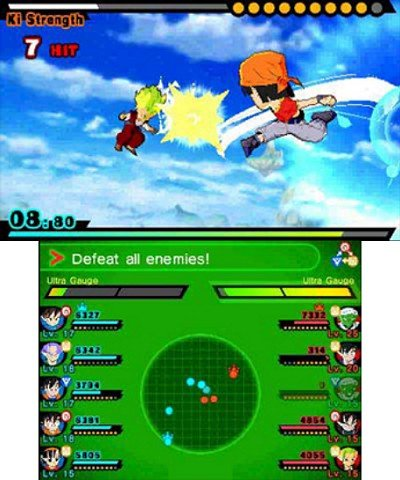 Dragon Ball Fusions immagini 3DS 03
