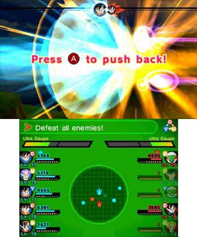 Dragon Ball Fusions immagini 3DS 04