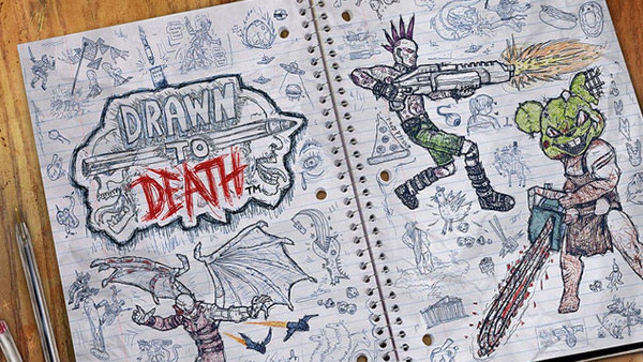 drawn to death server