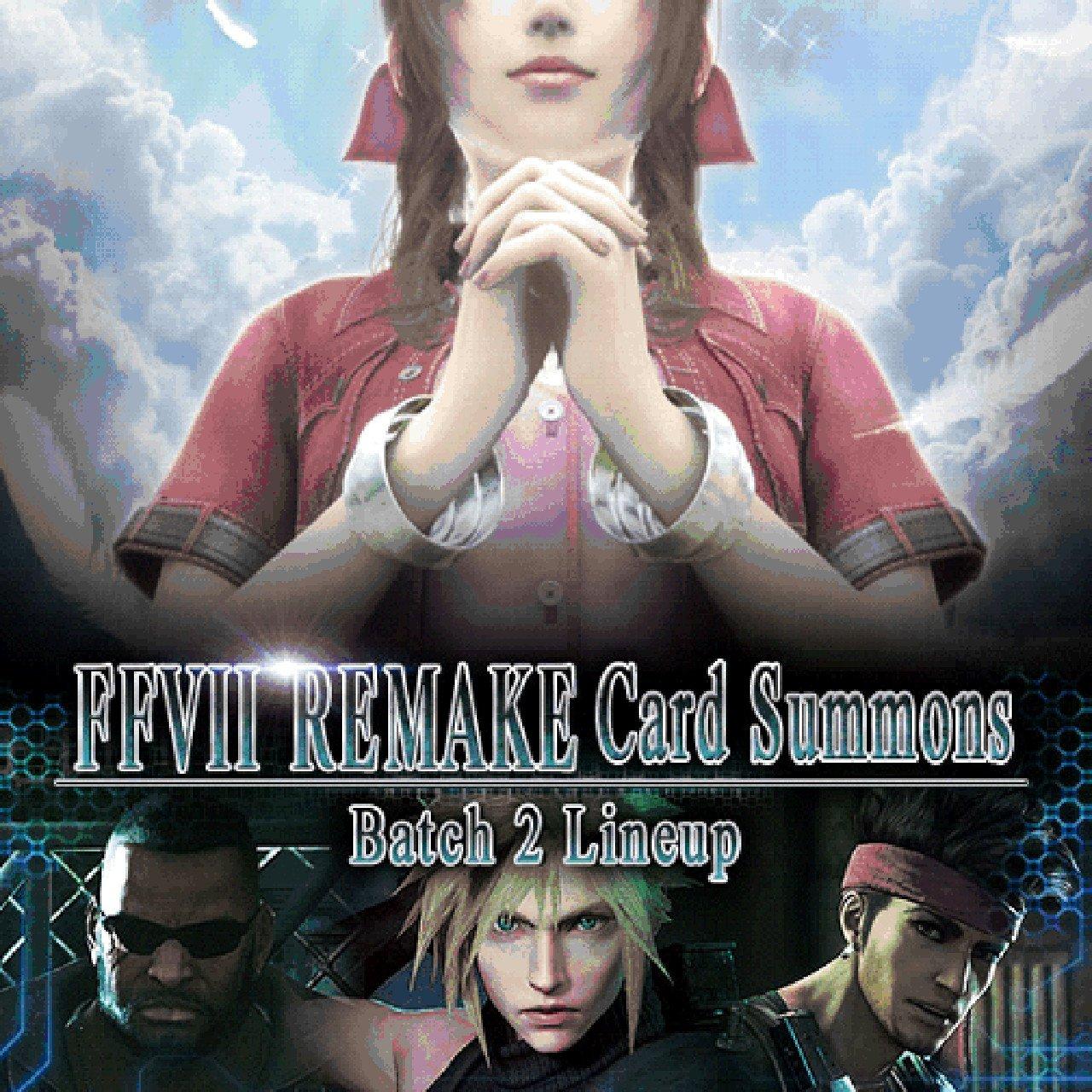 Mobius Final Fantasy: aggiunte le carte limitate di Final Fantasy VII Remake
