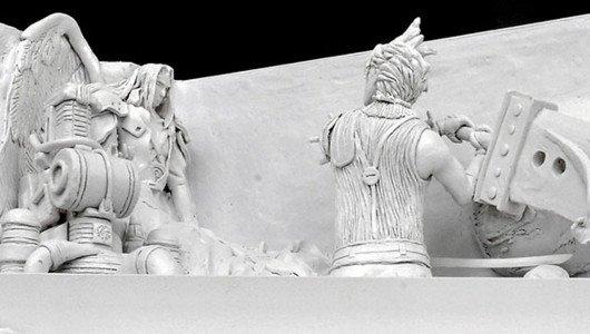 Final Fantasy VII: sculture di ghiaccio a tema al Sapporo Snow Festival