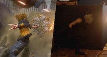 Kingdom Hearts III e Final Fantasy VII si mostrano in nuove immagini
