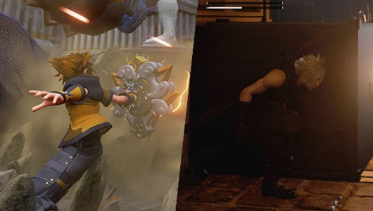 Kingdom Hearts III e Final Fantasy VII si mostrano in nuove immagini