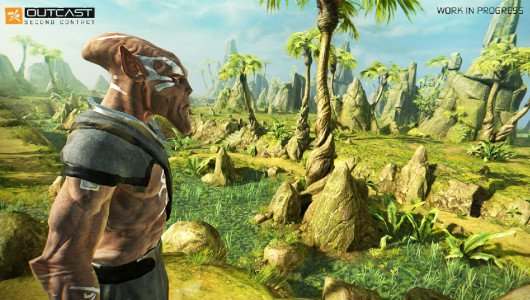 Outcast Second Contact trailer lancio