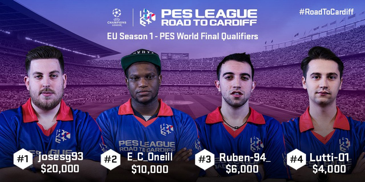 PES League Road to Cardiff: ecco i vincitori della Prima Finale Europea
