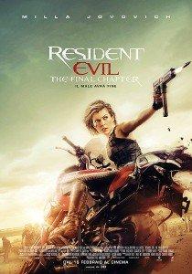 Resident Evil The final chapter immagine Cinema locandina