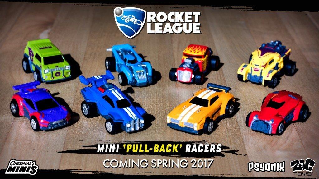 Rocket League Macchinine Giocattolo Ufficiali
