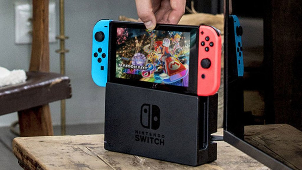 Nintendo switch console venduta usa