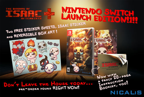 The Binding of Isaac Afterbirth+ launch edition