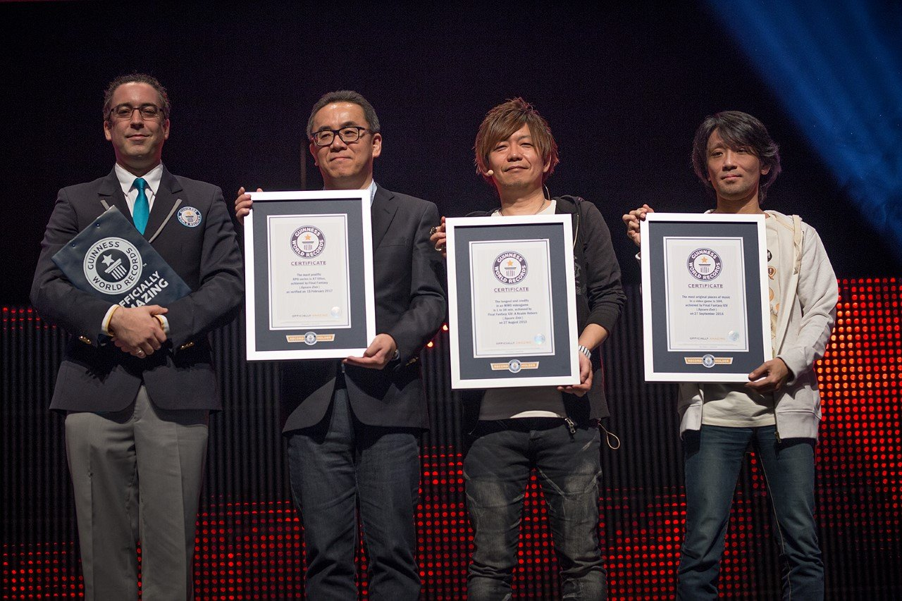 Final Fantasy ottiene tre nuovi Guinness World Record