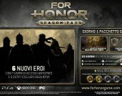 For Honor: nuovi eroi e Early Access con il Season Pass del gioco