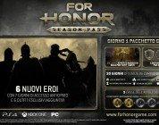 For Honor: nuovi eroi e Early Access con il Season Pass del gioco