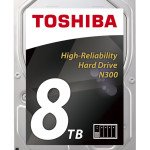 Toshiba presenta i nuovi hard disk N300 da 8 TB per i NAS