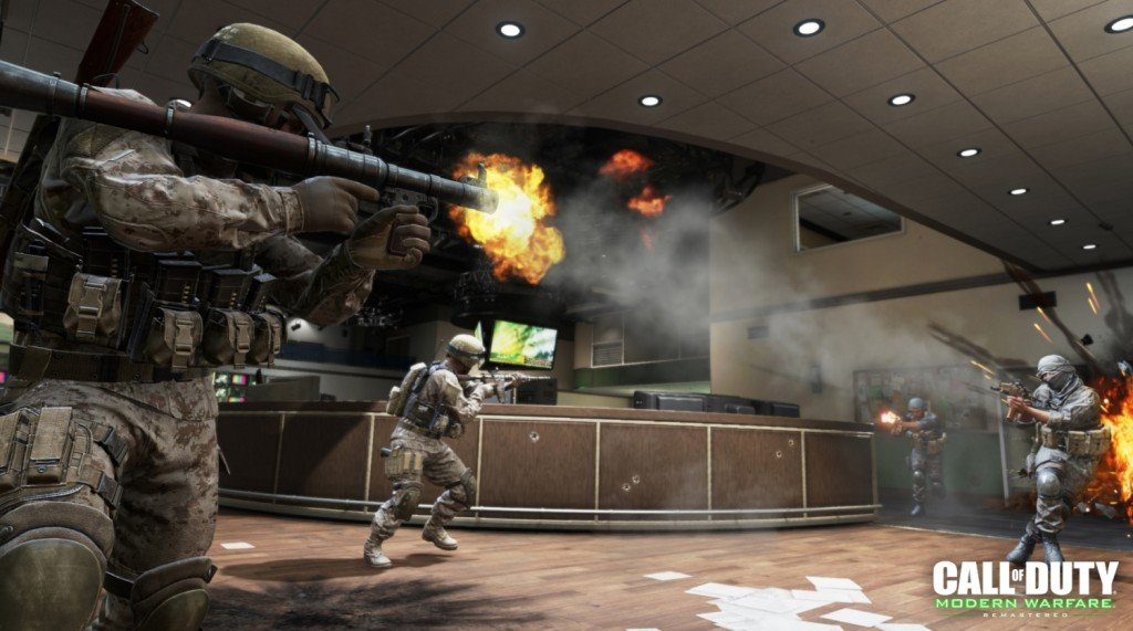 Call of Duty Modern Warfare Remastered map pack