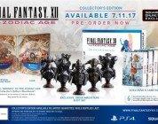 Final Fantasy XII The Zodiac Age: annunciate le edizioni speciali